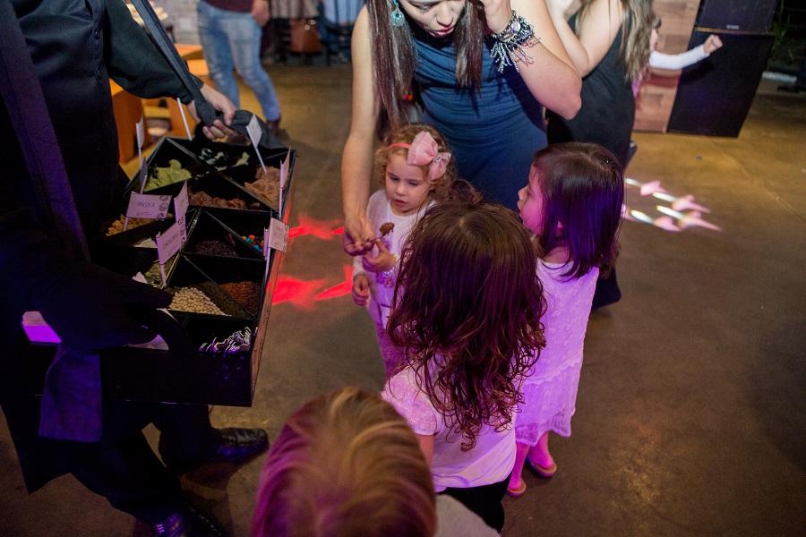 expressogourmet festa bailarina garçom brigadeiro Festa Infantil com Tema Bailarina