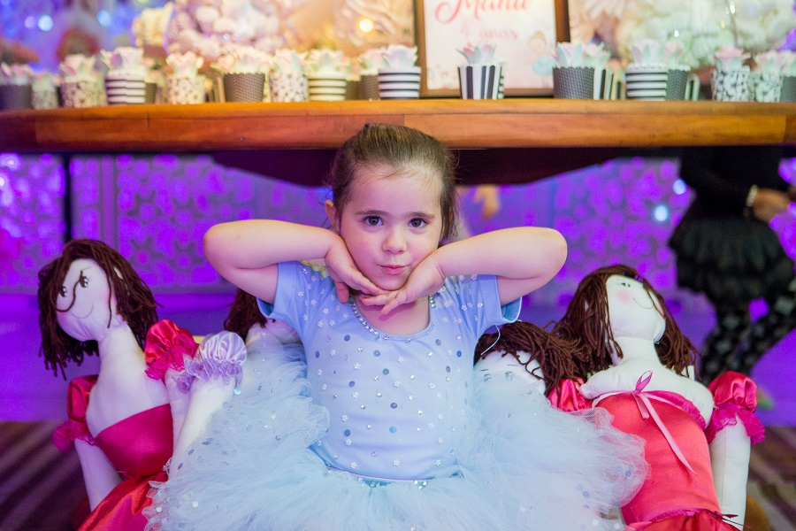 expressogourmet festa bailarina manu Festa Infantil com Tema Bailarina