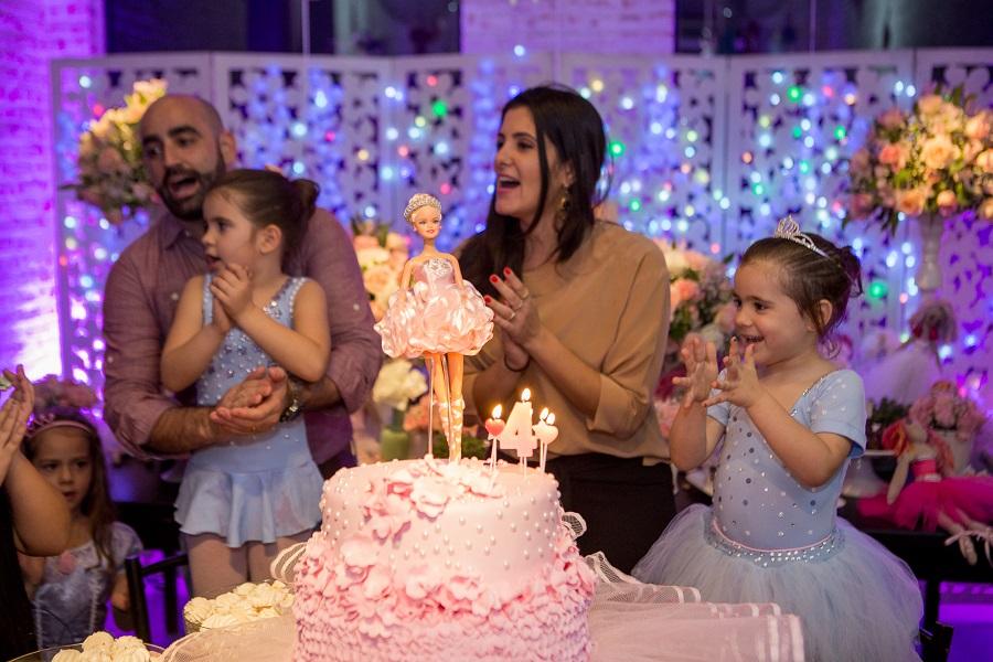 expressogourmet festa bailarina parabens Festa Infantil com Tema Bailarina
